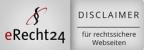 eRecht24 - Disclaimer